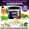 Hemp Calming Treats for Dogs with Anxiety and Stress - 170 Soft Chews - Made in USA - Hemp Oil for Dogs - Dog Anxiety Relief - Natural Calming Aid - Stress - Fireworks | Aggressive Behavior #2