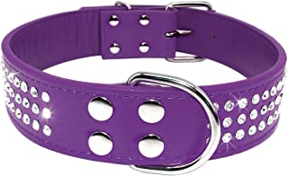 unique dog collars leather