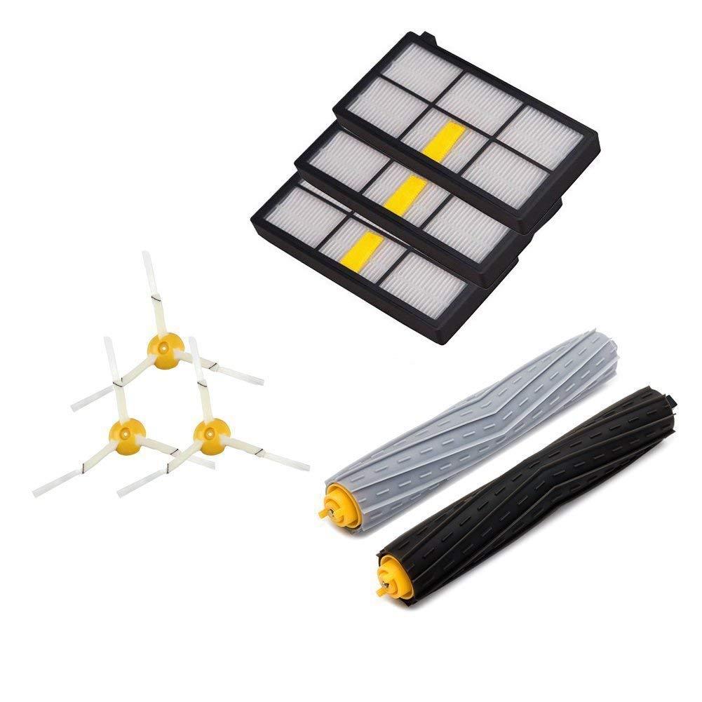 iAmoy Kit de cepillos de filtros Compatible with Robot Roomba ...