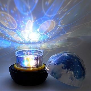Projecteur Ciel Étoile, Galaxy lumière, lampe Led Projecteur étoile Projecteur Lumière de Starry Sky Effet Constellation d...