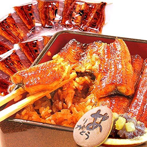 国産うなぎ ギフトランキング入り うなぎ どら焼き付き ギフト グルメギフト 国内産 鰻(うなぎ)の蒲焼 小ぶり・訳ありサイズ(55〜60g)10枚 セット 簡易箱