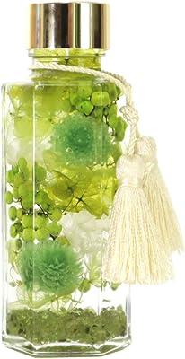 フェリナス 開運 ハーバリウム 金キャップ&タッセル付き グリーン(ペリドット) 健康運 家庭円満 昇格祝い 昇進祝い 開業祝い パワーストーン kaiun-green