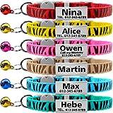 TagME Collares de Gato Personalizados con Placa de Nombre/Collares de...