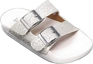 LK 9910 Elga Slides Sandals in White