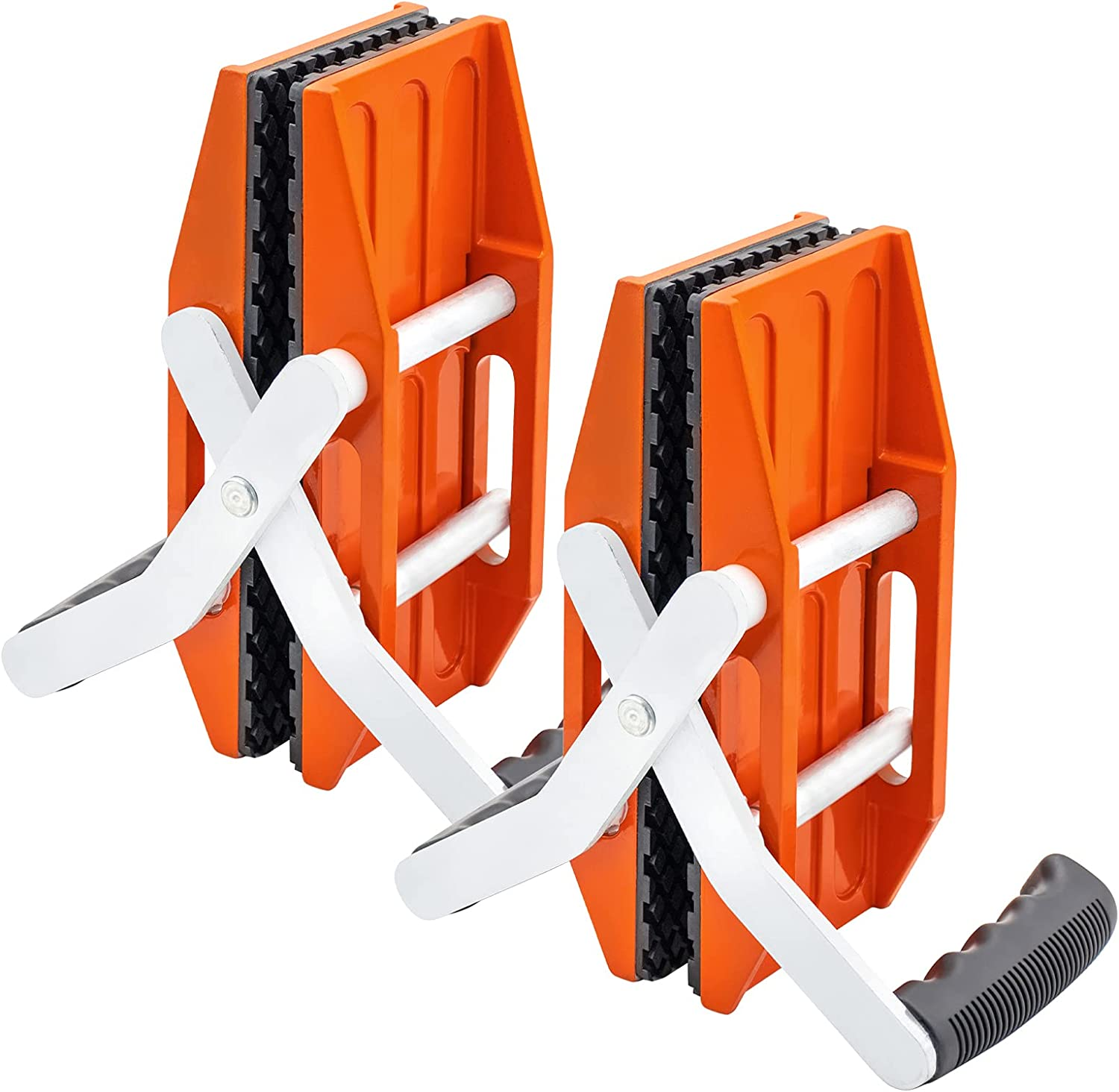 SDRTOR 2PCS Granite Carrying Clamps Carry Lifter Tools Double Ha