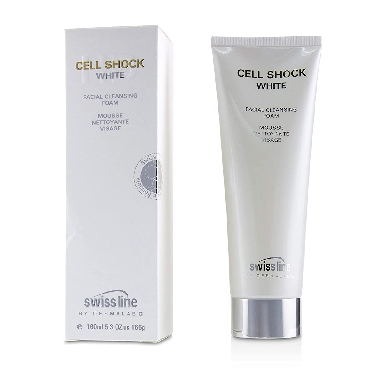 密倒産理由スイスライン Cell Shock White Facial Cleansing Foam 160ml/5.3oz並行輸入品