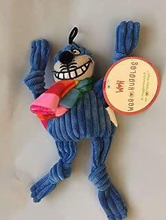 HuggleHounds Rainbow Knottie Blue Cheshire Cat Wee 6