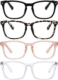 Reading Glasses Blue Light Blocking Readers for Women Men Nerd Glasses
