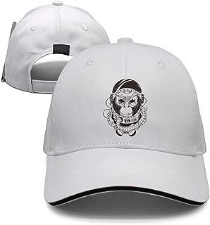 Monkey astronaut, chimpanzee in a space suit Cool Trucker Hat Cap