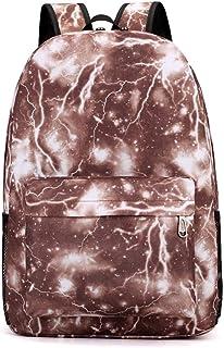 Cozy Mochila, Elegante y Minimalista Modelo Lightning Mochila Mochila de Senderismo de Nylon Casual Unisex Student Bag