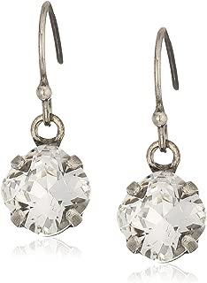 Sorrelli Lisa Oswald Collection Minimal Crystal Drop Earrings