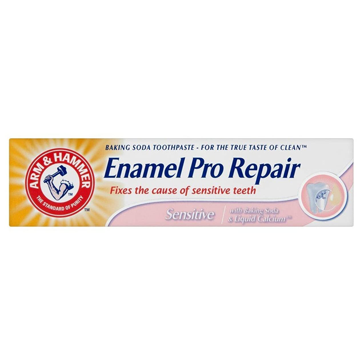 時制する必要がある環境保護主義者Arm & Hammer Enamel Care Sensitive Toothpaste Tube (75ml) アームとハンマーエナメルケア敏感歯磨き粉のチューブ( 75ミリリットル) [並行輸入品]