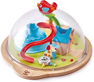 Hape Sunny Valley Adventure Dome | 3D Toy with Magnetic Maze, Kids Play Dome Featuring Characters and Accessories Multicol...