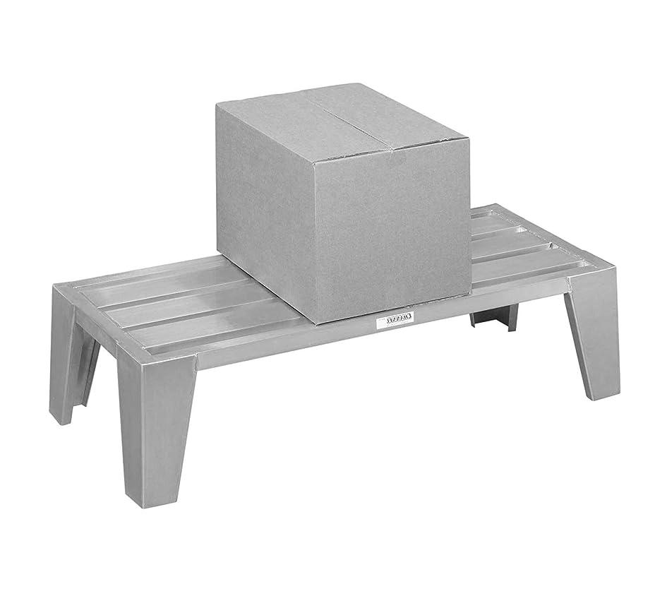 フォーカスありがたい決してHome Décor プレミアム 24インチ x 42インチ 丈夫なアルミ製 ダネージラック - 3000ポンド 収納。