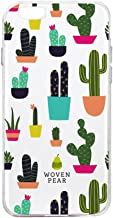 Woven Pear iPhone 7 PLUS - Prickly Pear Phone Case