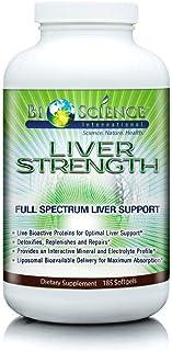 BIOSCIENCE Liver Strength - Natural Liver Support & Detox (185 Softgels) Full Spectrum Advanced Liver Repai...