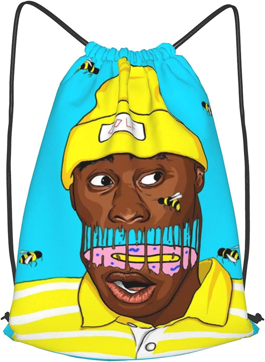 Tyler The Creator At the price of surprise Ranking TOP1 Drawstring Backpack Sackpack Bag String Cinch