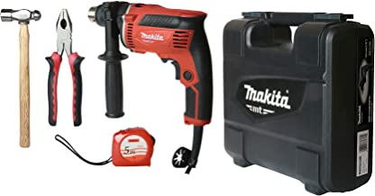 Makita, Hammer Drill 13MM, With Keyed Chuck and Accessories set