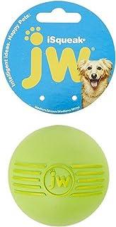 JW iSqueak Rubber Ball, Medium, 6 Pack