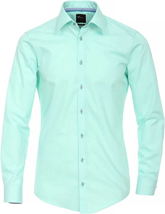 Venti Camisa Hombre Verde Menta 43 cm (17