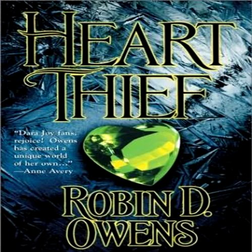 Heart Thief audiobook cover art