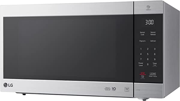 LG NeoChef 2 0 Cu Ft Countertop Microwave In Stainless Steel
