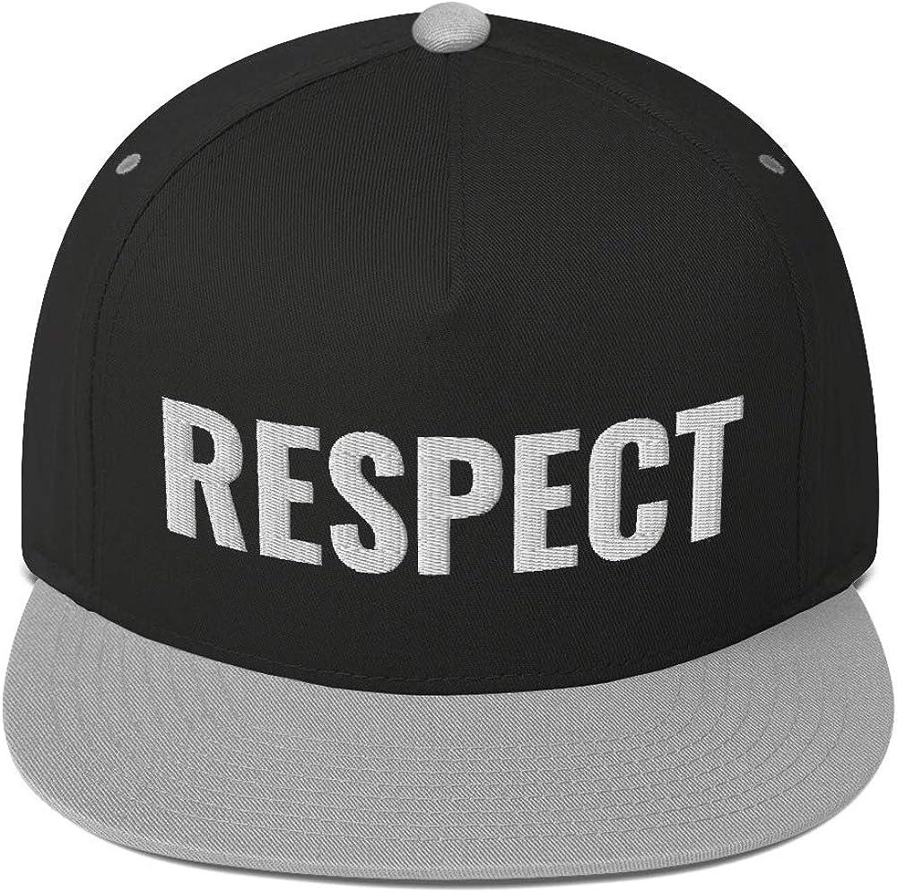 Universal Gear Grab Respect Flat Bill Cap