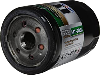 Mobil 1 Oil Filter, Extended Performance, Canister, Screw-On, 4.19 in Tall, 13/16-16 in Thread, Steel, Black, GM / Saab / Saturn, Each