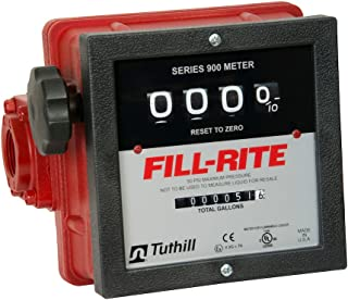 diesel transfer pump with flow meter