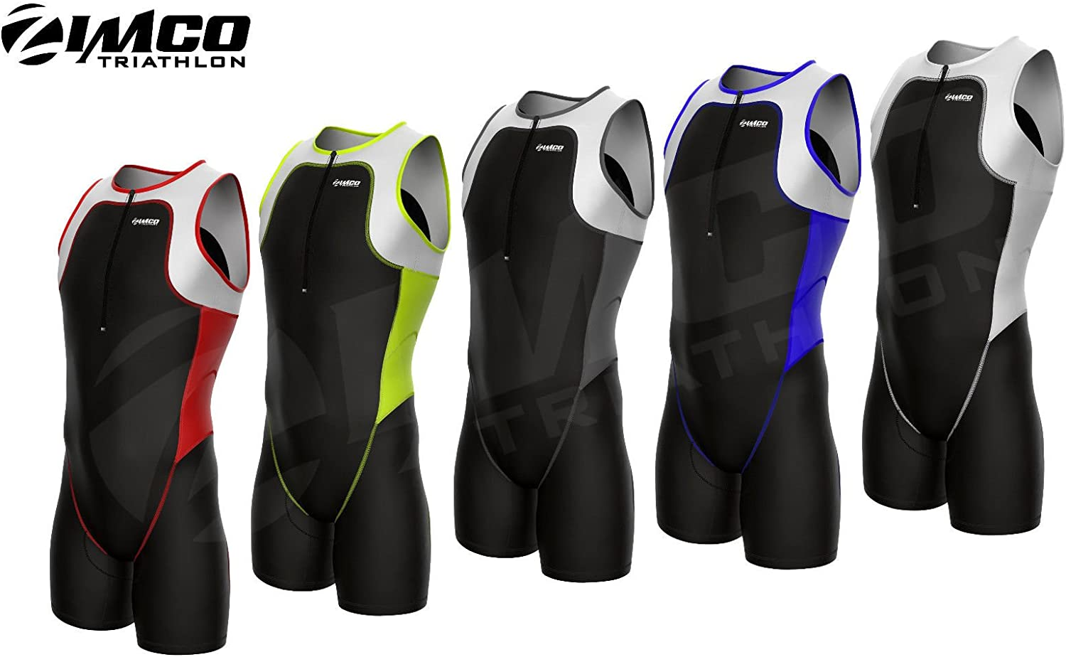 Zimco Elite Men Triathlon Suit Racing Tri Suit Triathlon Short Tri Swim Run