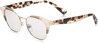 Valentino 0VA4027 506487 51 Montures de Lunettes, Blanc (Ivory Opal/Lightgrey), Femme