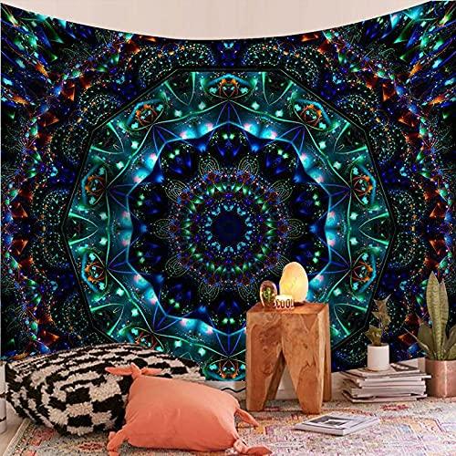 Tapiz de mandala indio para colgar en la pared serie mandala impresión tapiz para el hogar tela decorativa para colgar en la pared A1 180x230cm