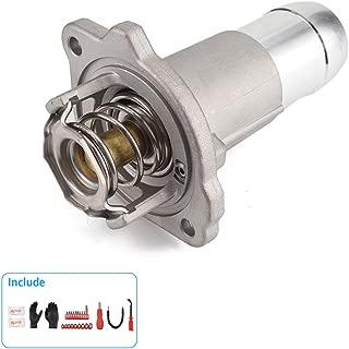 KIMISS 1149617 Termostato de Salida de Agua del refrigerante del Motor del Coche con Conjunto de Carcasa para V 1.3