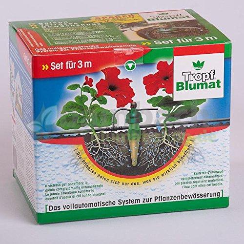 TROPF-BLUMAT Bewässerungsanlage, Set für 3 m Balkonkasten