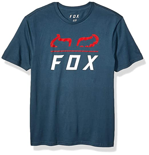 Fox Racing Furnace Mens Premium Short Sleeve T-Shirt Navy