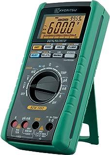 Kyoritsu Kew 1009/mutlimetro Digital para la tama/ño de tensioni AC//DC Gris resistencia Capacidad continuidad Corriente AC//DC prueba diodo Frecuencia