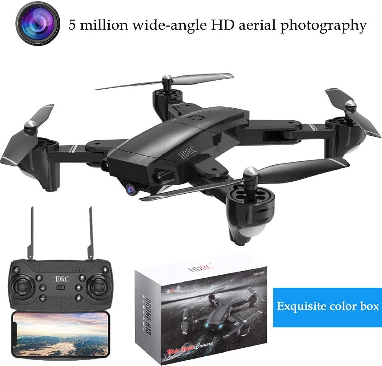 FENSIN Drone Pliable à Quatre Axes, H13 5MP 1080P Grand Angle WiFi FPV Caméra Pliable RC Drone Quadrocopter(Emballage de Boîte de Couleur)