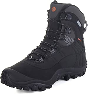 Manfen Thermator Men's Mid Hiking Boot Waterproof Hunting Outdoor Boot Camo