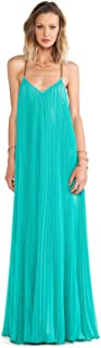 Women's Brynna Sleeveless Pleated Maxi Gown Dress