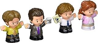 Fisher-Price Little People Collector The Office Figure Set de figuras de 4 personajes del programa de televisión americano en un paquete de regalo
