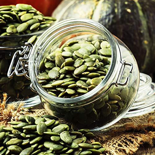 Kürbiskerne geschält grün | Kürbis Kerne | naturbelassen | unbehandelt | ungesalzen | vegan | Premium Qualität | gesund | Kalorien arm | Kürbiskernöl | Frischebeutel | natürliches Arginin | 2500g