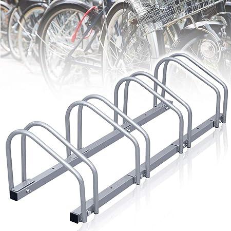 Fahrradständer Halterung 4er Regenfester Rad Aufstellständer 4 Räder Wandhalter