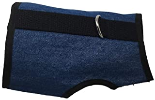 Kitty Holster Cat Harness, X-Small, Denim Blue
