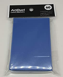 Yugioh Card Sleeves - Matte Blue - 60ct