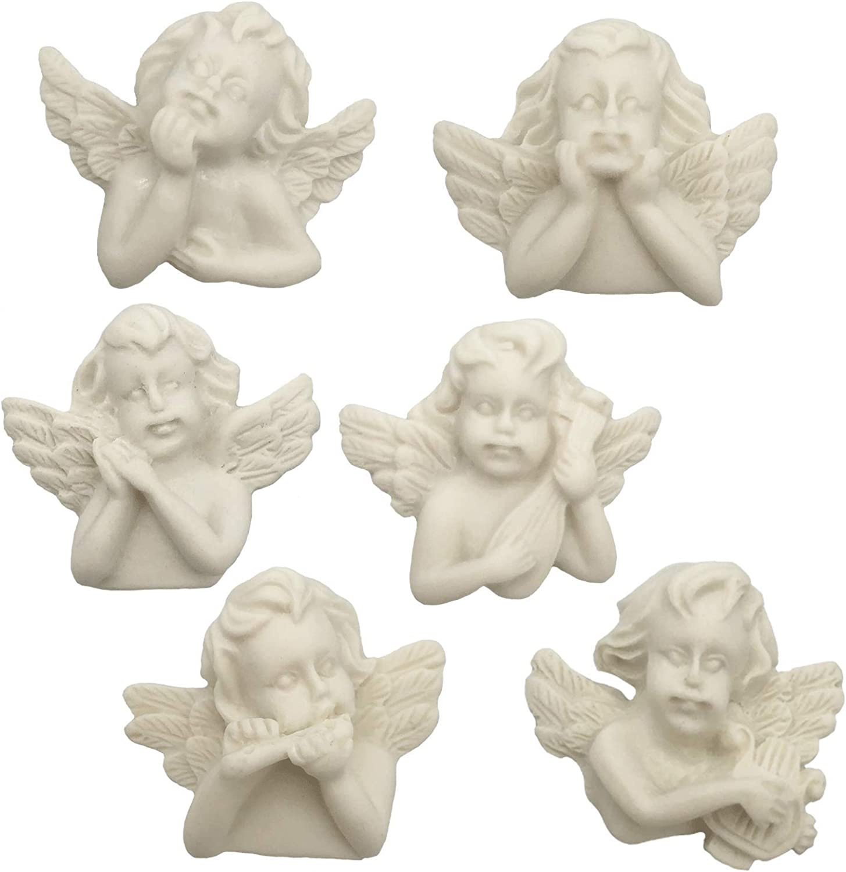 DIYstore 12 Bargain Pcs Flatback Resin Charms for DIY Scrapbooking Choice Cupid