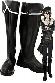 Ensemble Stars Undead Sakuma Rei Cosplay Shoes Boots Custom Made
