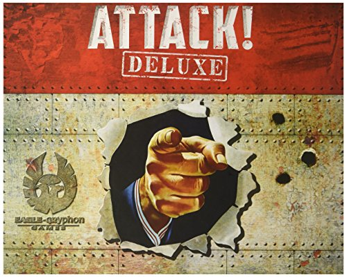 Eagle-Gryphon Games EAG01819 - Attack! Deluxe, Familien Strategiespiel