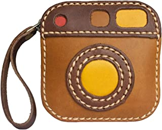 Craftfity Hide Leather Coin Purse Money Wallet Pouch Change Holder for Men Women