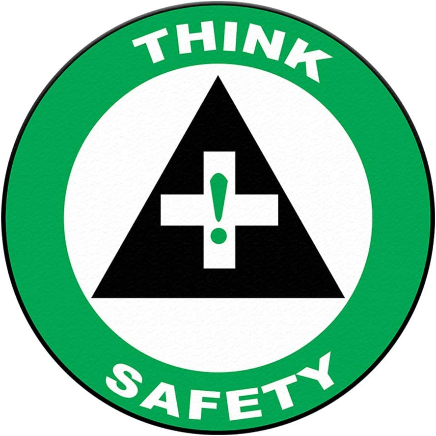 Think Safety Floor Decals Green Anti-Slip Shape Round Lifestyle Raleigh Omaha Mall Mall