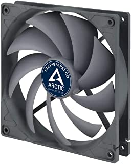 ARCTIC F14 PWM PST CO - 140 mm PWM PST Case Fan for Continuous Operation, Cooler with PST-Port (PWM Sharing Technology) and Dual Ball Bearing, Regulates RPM in sync